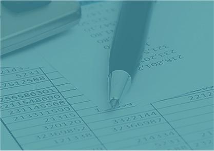 tax paperwork blue overlay bg